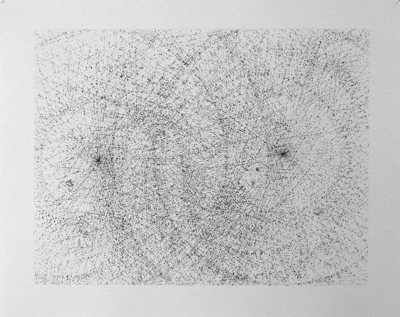 12-13 juillet 2012, pointe sèche et eau forte sur papier,75x94 cm, 2012 1920 300 dpi