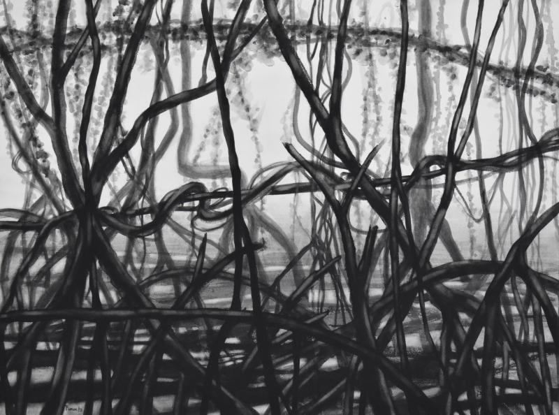 43-mangrove noir guache 76.5X56.5 1920 72 dpi