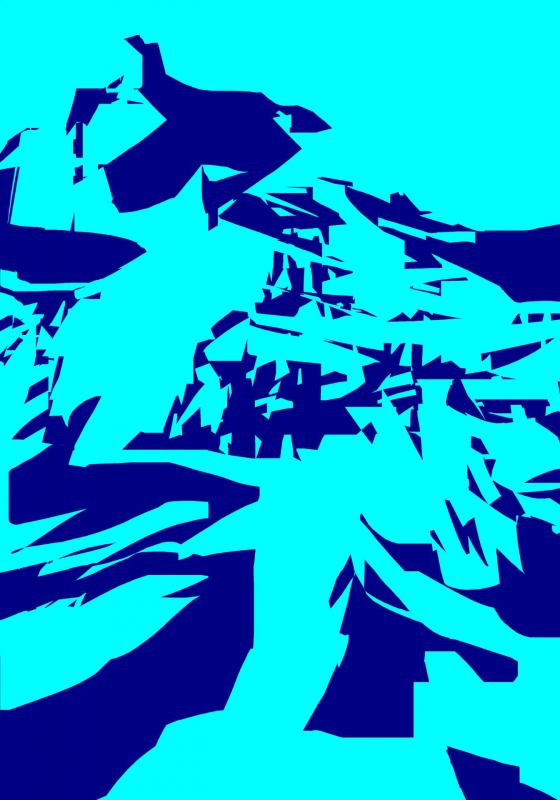 18 - sommet oeuvre informatique 2008 70x50 cm 5 exemplaires + EA 1920 72 dpi